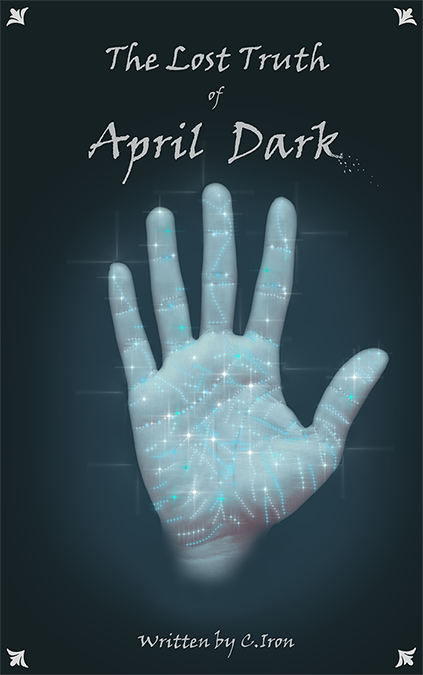 the cover of book one the lost truth of april dark
